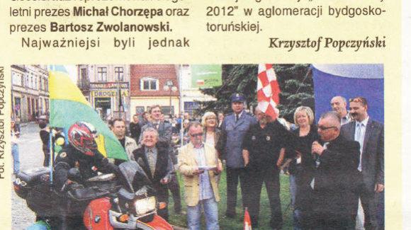 Rajd z Koronowa do Zadaru FIM Rally 2009