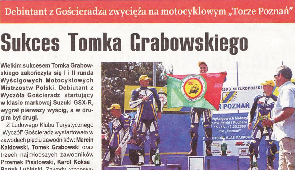 Sukces Tomka Grabowskiego