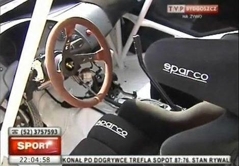 TVP3 BYDGOSZCZ Prezentacja Gulf Poland Rally Team