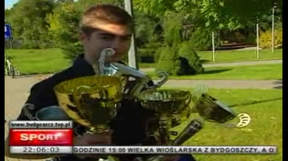 Przemek Piastowski w telewizji