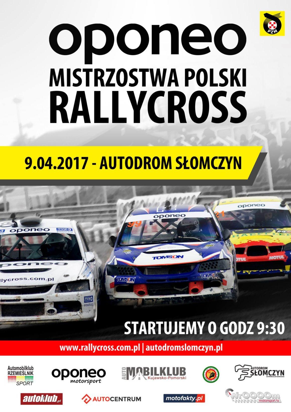 1 Runda OPONEO Mistrzostw Polski Rallycross