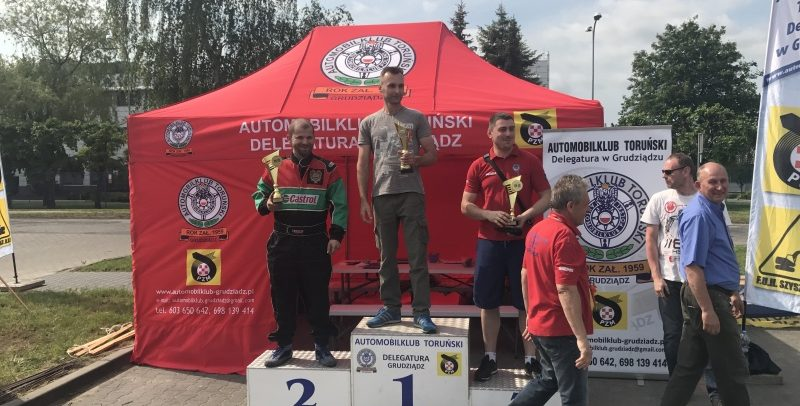 2 runda Grudziądzkiego Mistrza Kierownicy i 2 runda MOB PZM w Auto Slalomie