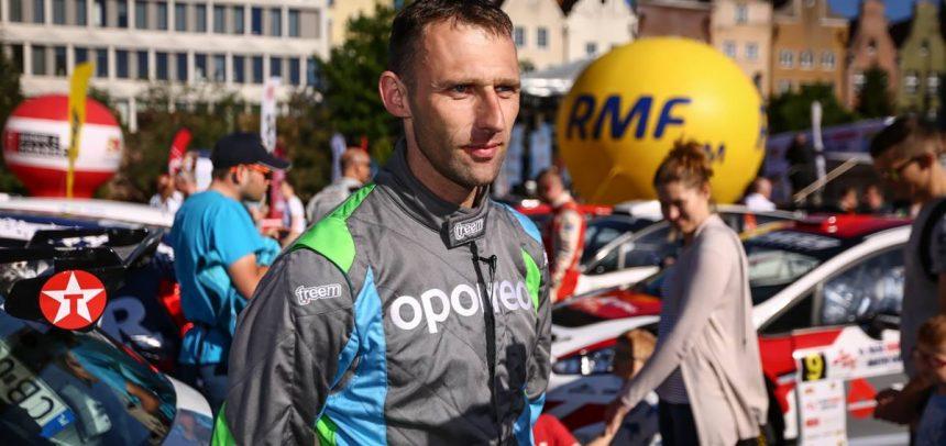 Marcin Gagacki na 7 miejscu w Rajd Gdańsk Baltic Cup