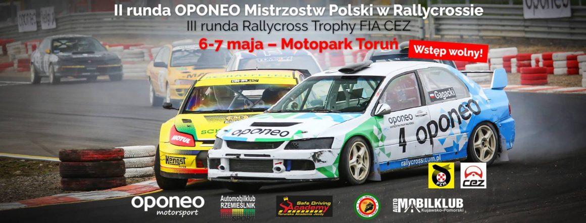 2 runda Oponeo Mistrzostw Polski Rallycross