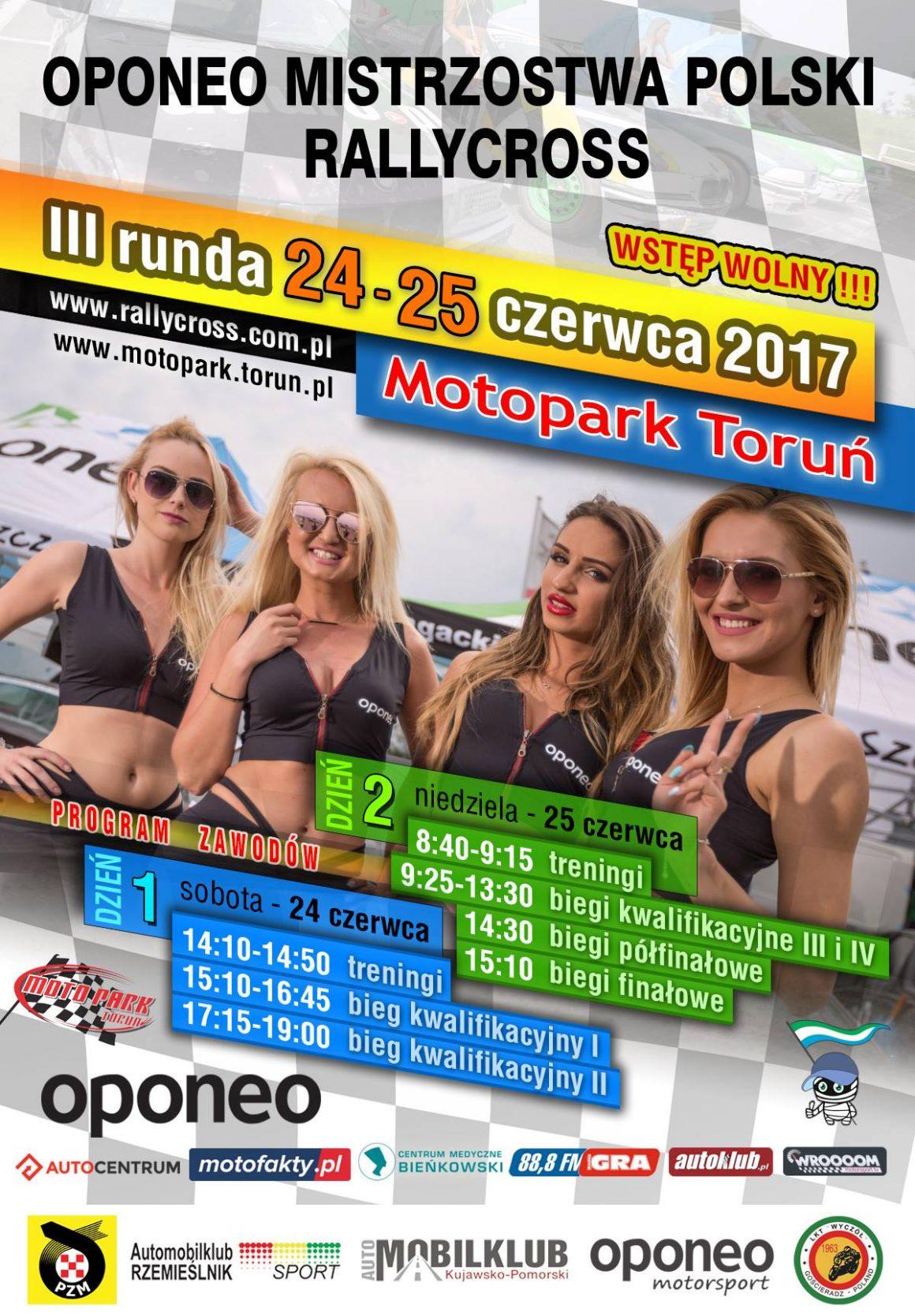 III Runda Oponeo Mistrzostw Polski Rallycross 24-25.06.2017