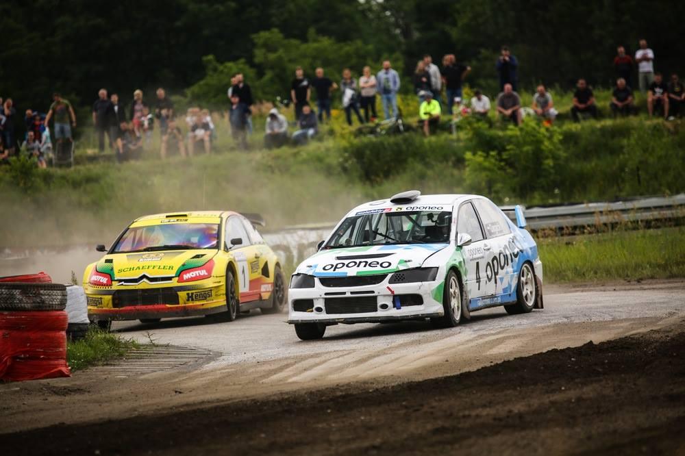 1 miejsce Marcina Gagackiego na 3 rundzie Oponeo Mistrzostw Polski Rallycross