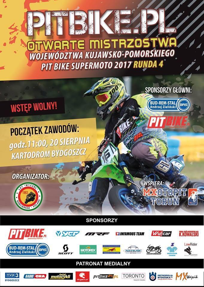 Supermoto PIT Bike- 20 sierpnia 2017