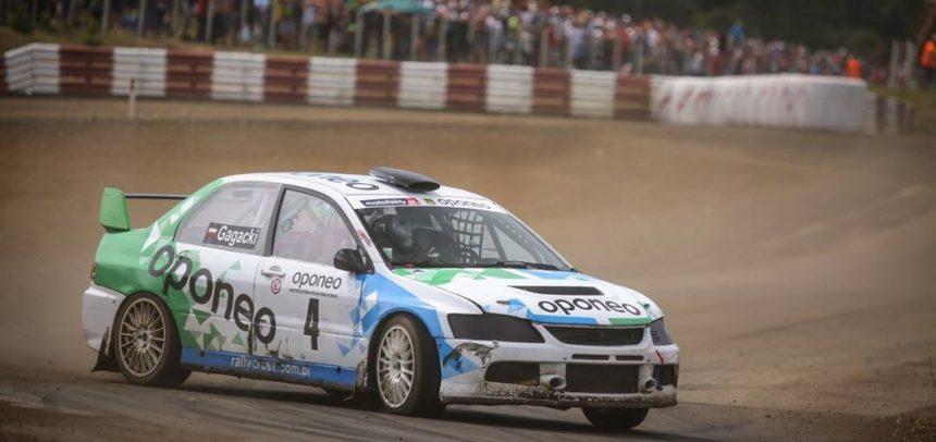 Marcin Gagacki wicemistrzem Polski w rallycrossie