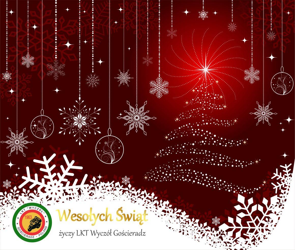 """Życzenia świąteczne i noworoczne od ,,Wyczóła"""""""