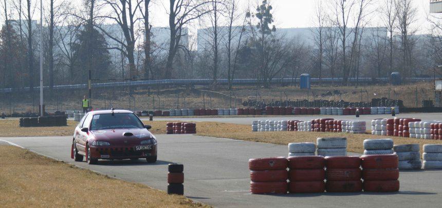 1 runda MOB w Autoslalomie