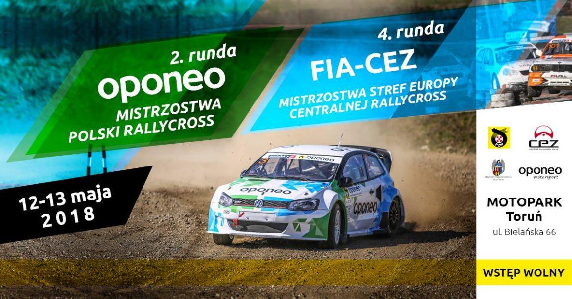 2. runda Oponeo Mistrzostwa Polski Rallycross w Toruniu