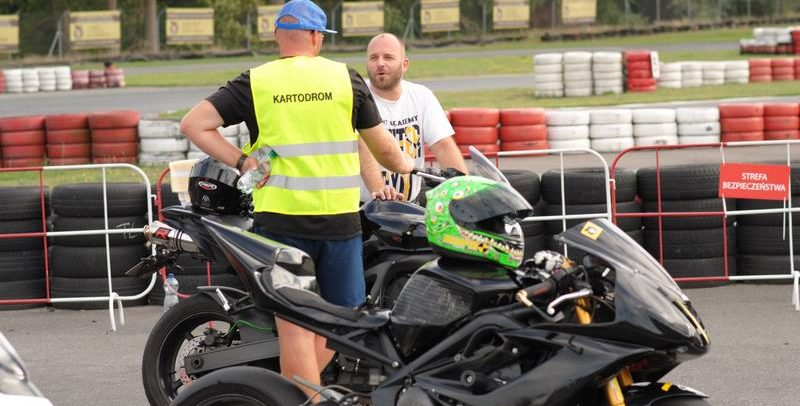 Poniedziałek i środa motocyklowa na Kartodrom Bydgoszcz