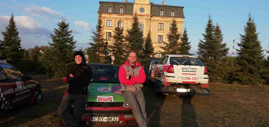 Rajd Włocławski z udziałem kierowców Wyczóła