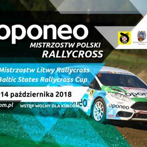 Zapraszamy na finałową rundę Mistrzostw Polski Rallycross