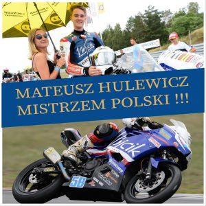 Mateusz Hulewicz Mistrzem Polski!