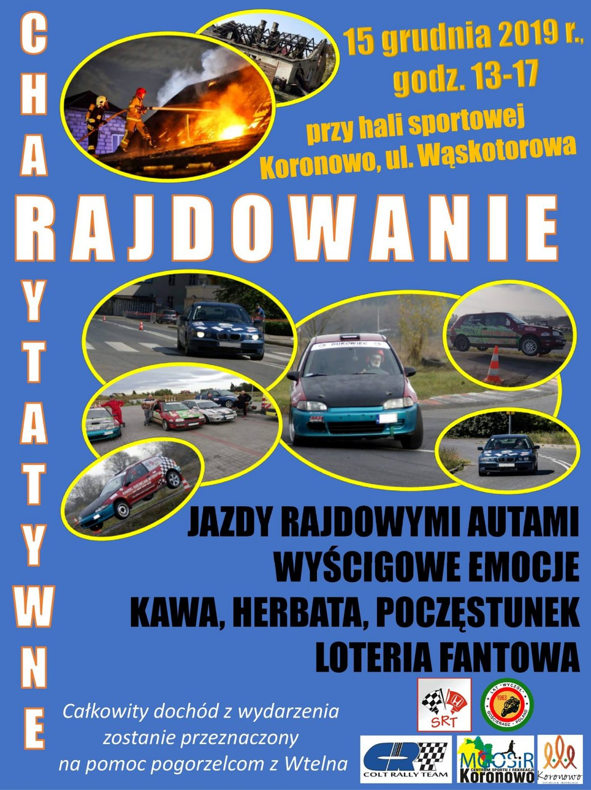 Charytatywne Rajdowanie w Koronowie