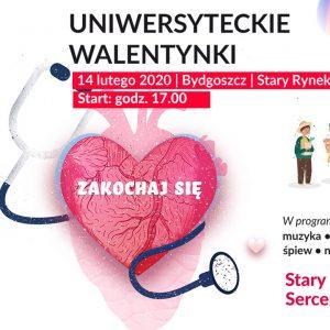 Zapraszamy na Uniwersyteckie Walentynki
