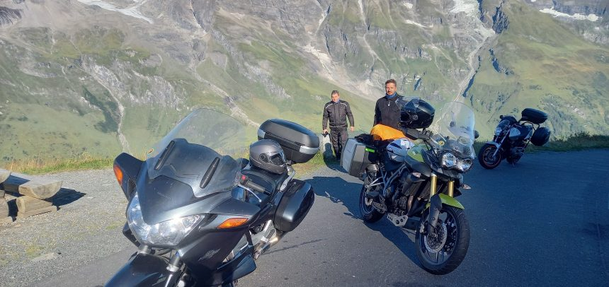 Alpejska przygoda na motocyklach
