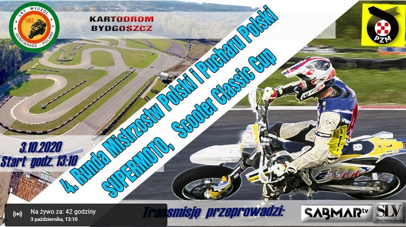 Supermoto live na Youtube
